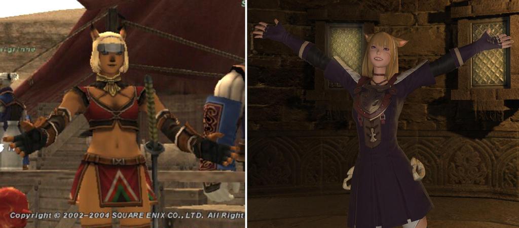 Ashria - FFXI vs. FFXIV