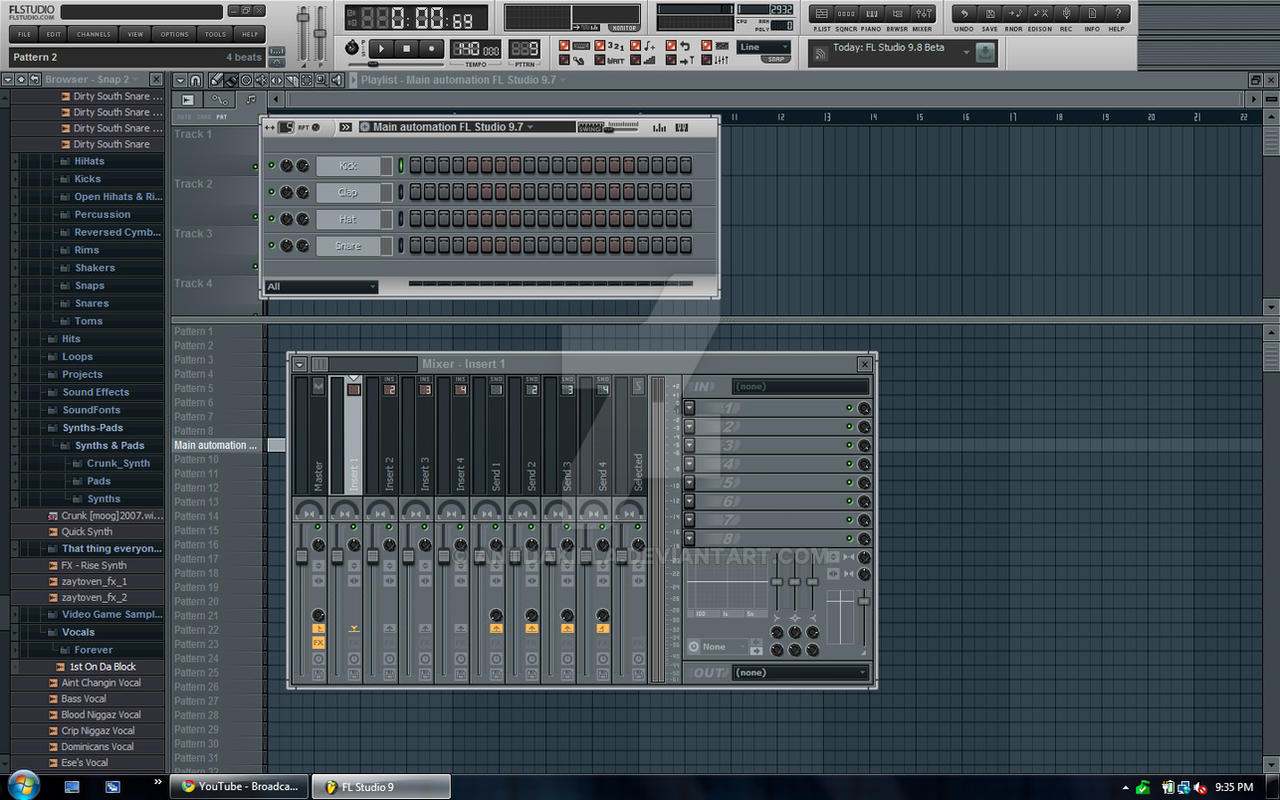 FL Studio 10 Skin: 'Ghost 2.0' by AntDaKilla