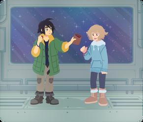 Sharing Snacks