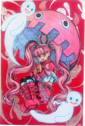 Ghost Princess Postcard