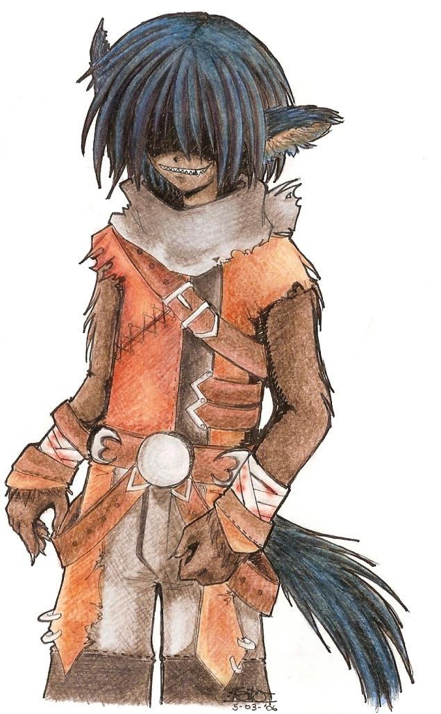 Werewolf manga