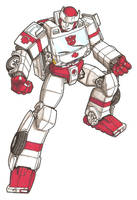 Autobot Ratchet by secowankenobi
