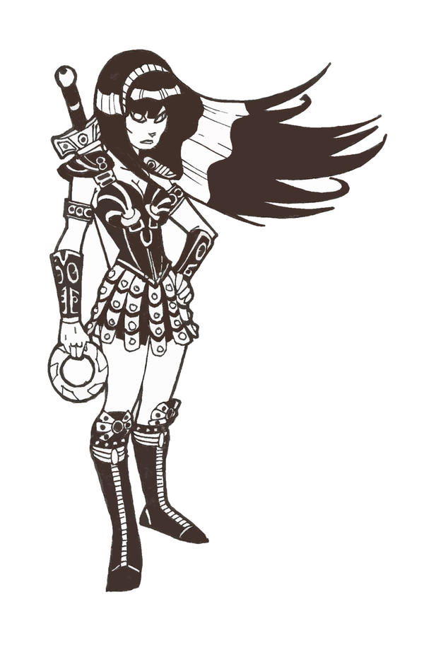 Xena animated by secowankenobi on deviantart Xena coloring book