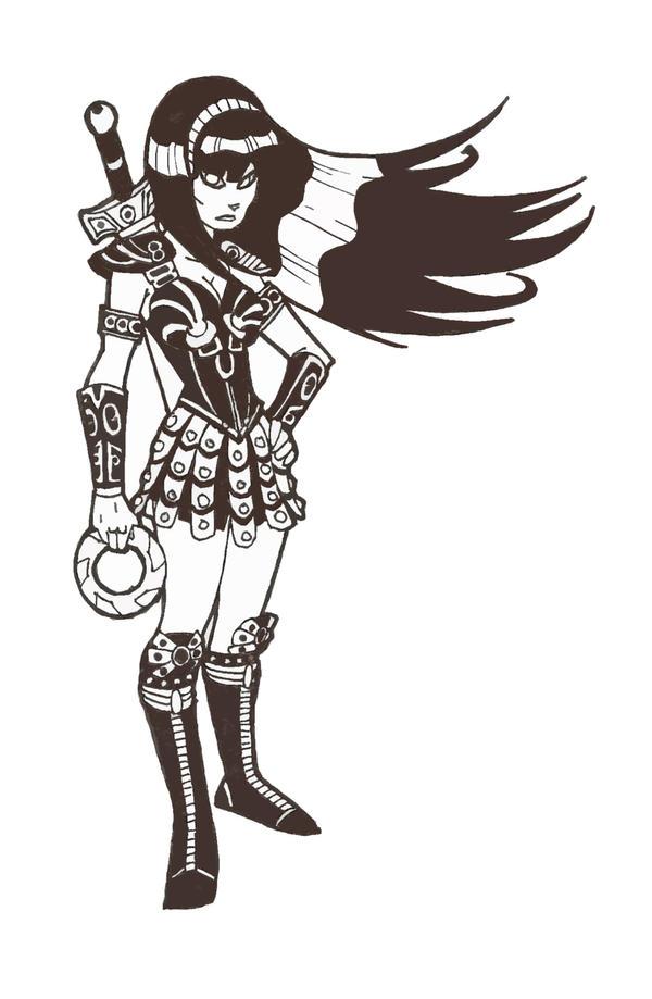Xena Animated By Secowankenobi