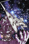 Silver Surfer And Galactus