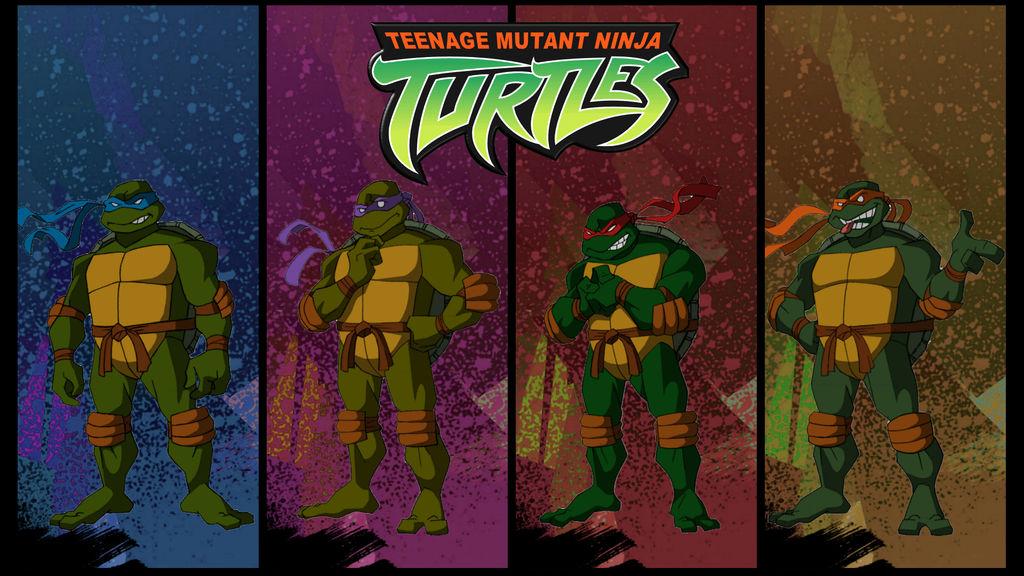 Tmnt 2003 Turtles Team Fan Poster By Raidenraider On Deviantart
