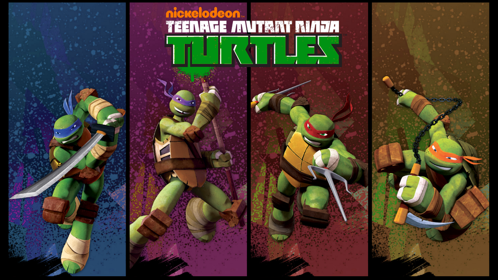 Teenage Mutant Ninja Turtles Poster 2012 | www.pixshark ...