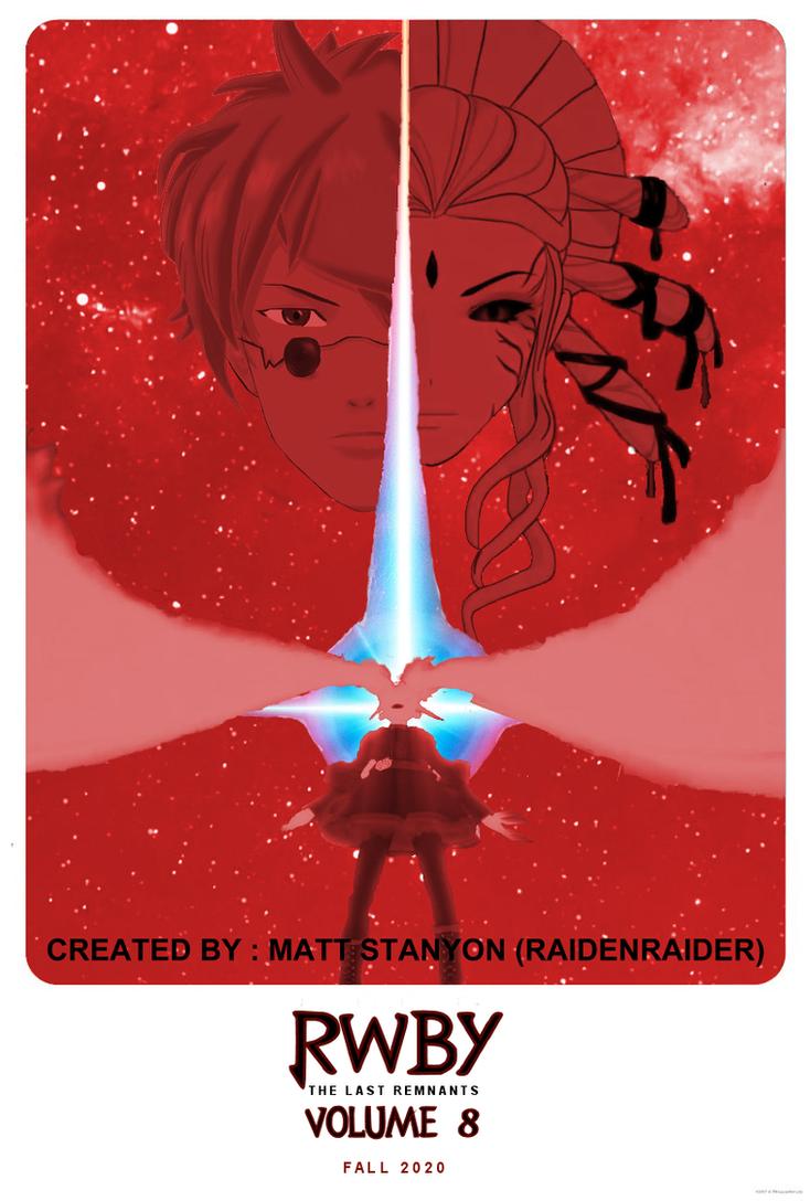 RWBY - Star Wars The Last Jedi Style Fan Poster #1 by RaidenRaider