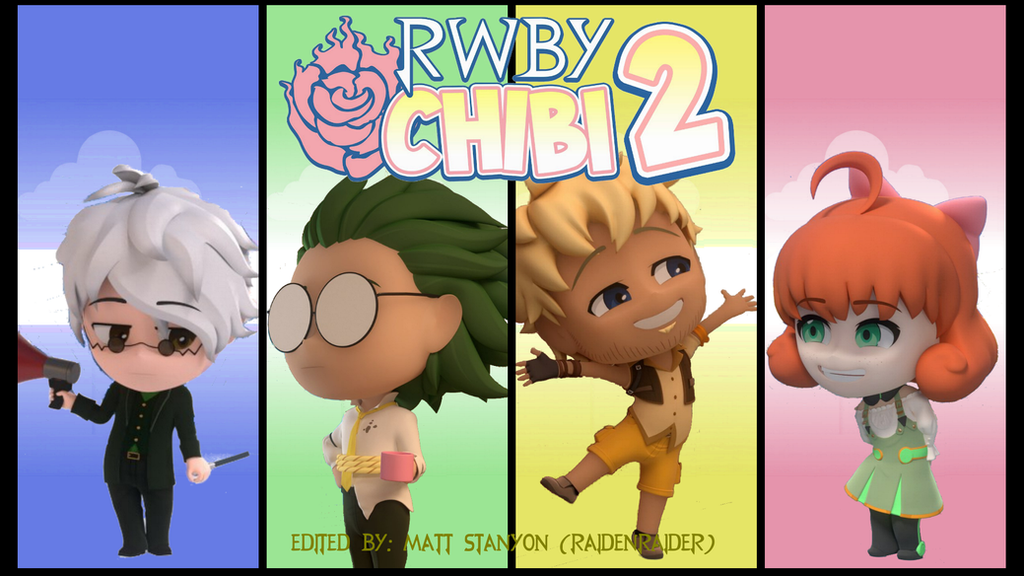 Group of Rwby Chibi Characters