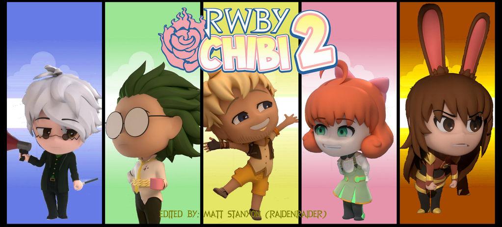 RWBY Chibi Season 2 - New Characters Fan Poster #2 by RaidenRaider