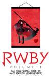 RWBY Volume 1 - Ruby Wall Scroll Fan Poster #1