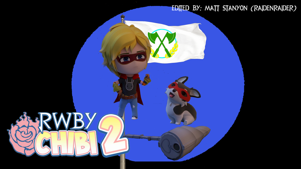 RWBY Chibi Season 2 - Jaune And Zwei Fan Poster #1 by RaidenRaider