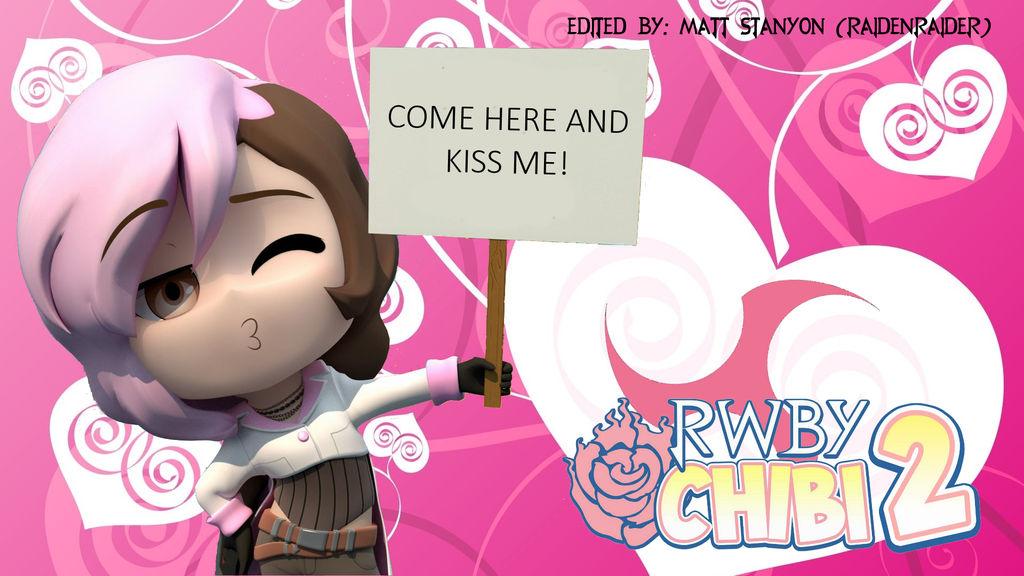 RWBY Chibi Season 2 - Neo's Kiss Fan Poster by RaidenRaider on