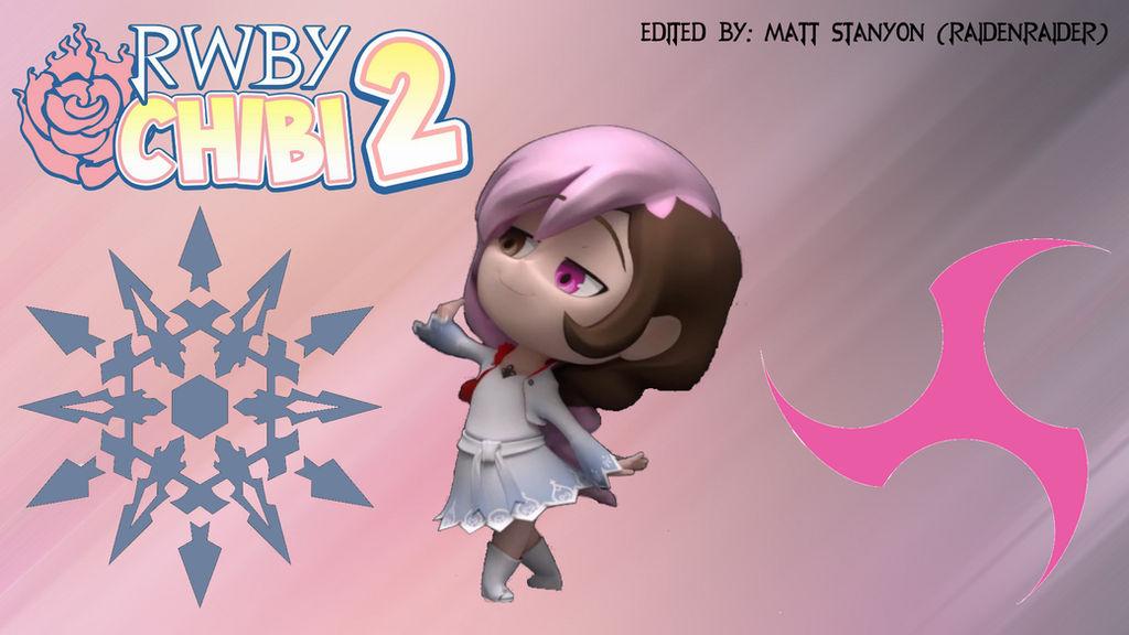 RWBY Chibi Season 2 - WeissCream Fan Poster #1 by RaidenRaider on