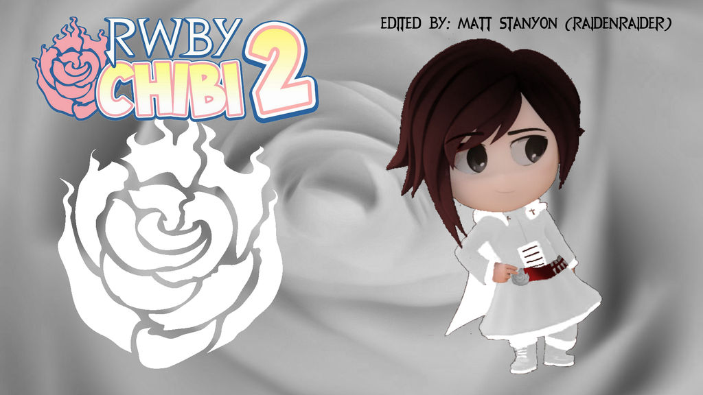 RWBY Chibi Season 2 - Summer Rose Fan Poster #1 by