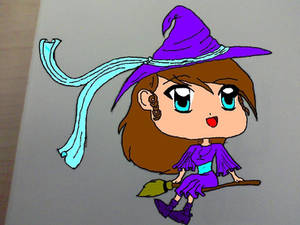 Little Witch v1 Colored