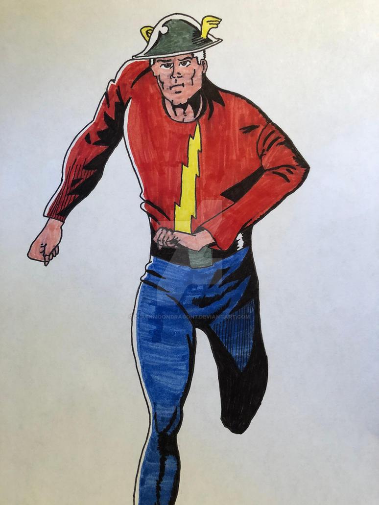 The Flash Jay Garrick By Blackmoondragon7 On Deviantart
