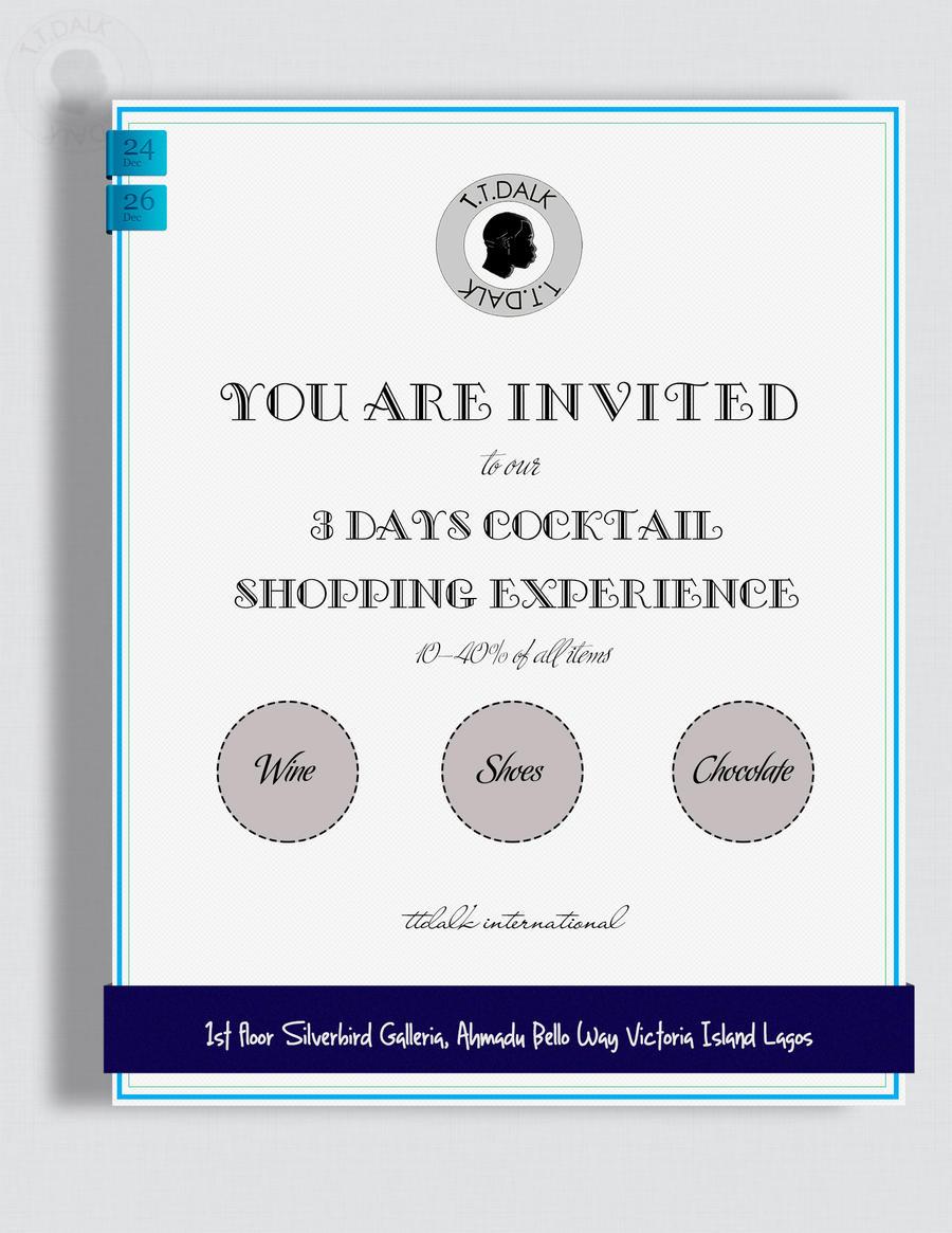 Invitation Card Event by Darth-vader-sith on DeviantArt