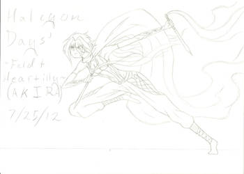 Halcyon Days' Feldt Heartilly (Akira) #2 by Tenjiyo200