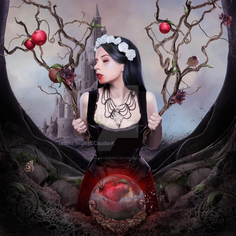 Twisted Fairytale Snowwhite by LevanaTempest
