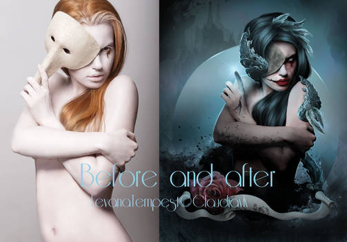 Before and After Dark Witch