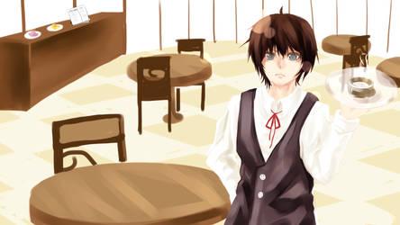 Noel as Waiter