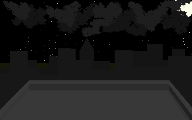 Rooftop Nightscape by tygerwulf