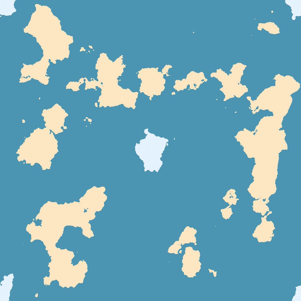 Big Fractal Worldmap by tygerwulf