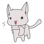 *Scarf kitty base*