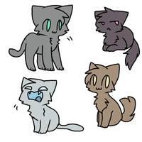 *random cat bases* by qoaties