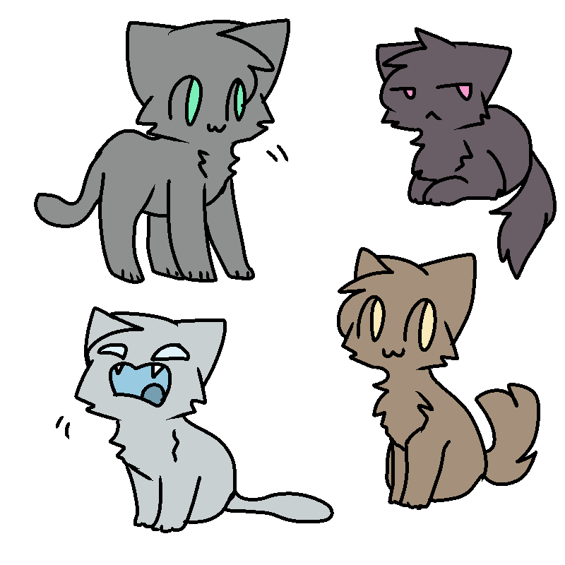 Random Cat Bases By Qoaties On Deviantart