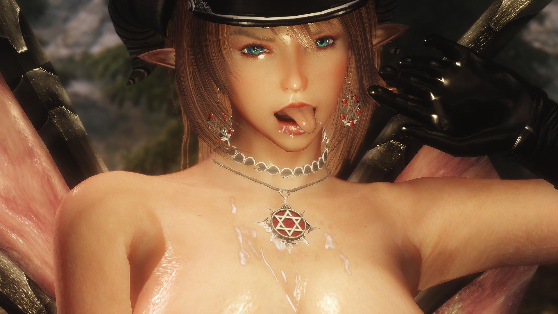 Skyrim succubus boobs porn scenes