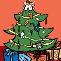 Advent Calendar Dec 10 TREE by AquaticFishy