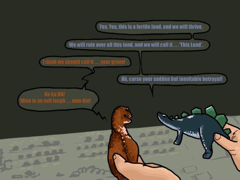Firefly Dinosaurs by AquaticFishy