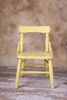 Yellow Chair by deathbycanon-stock
