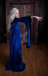 Blue Renaissance Dress 1