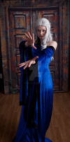 Blue Renaissance Dress 2