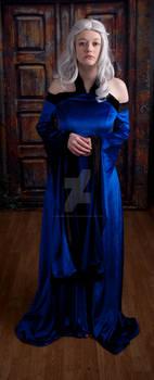 Blue Renaissance Dress 3