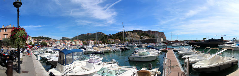 Panorama du Port de Cassis