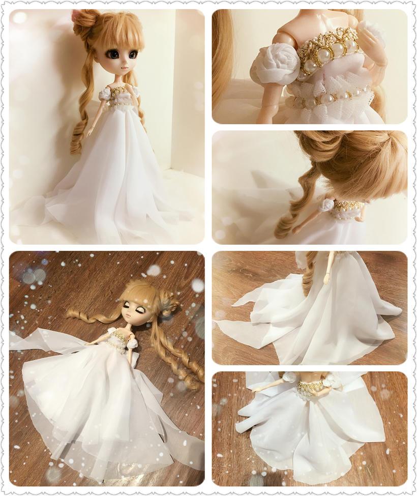 Handmade Dress - Sailor Moon Princess Serenity by iCandy33