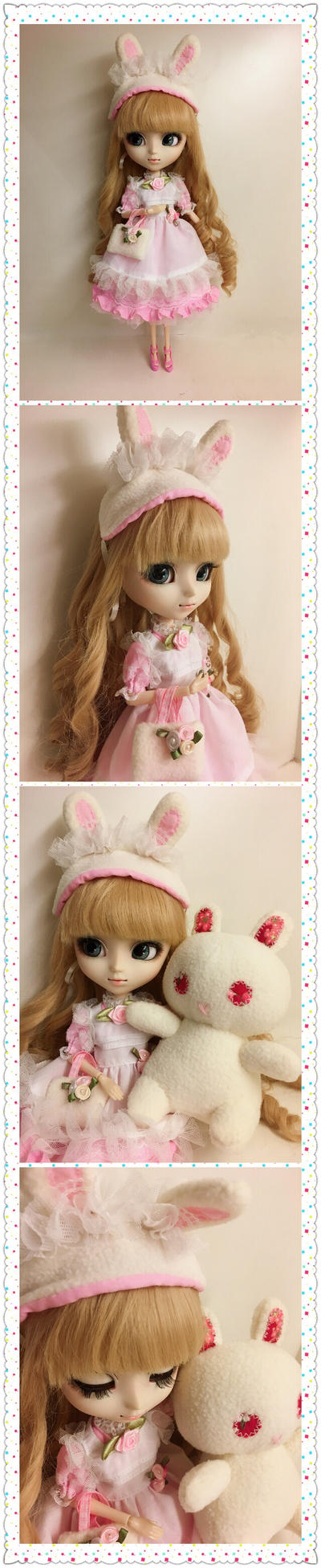 Cute Pink Bunny Dress by iCandy33