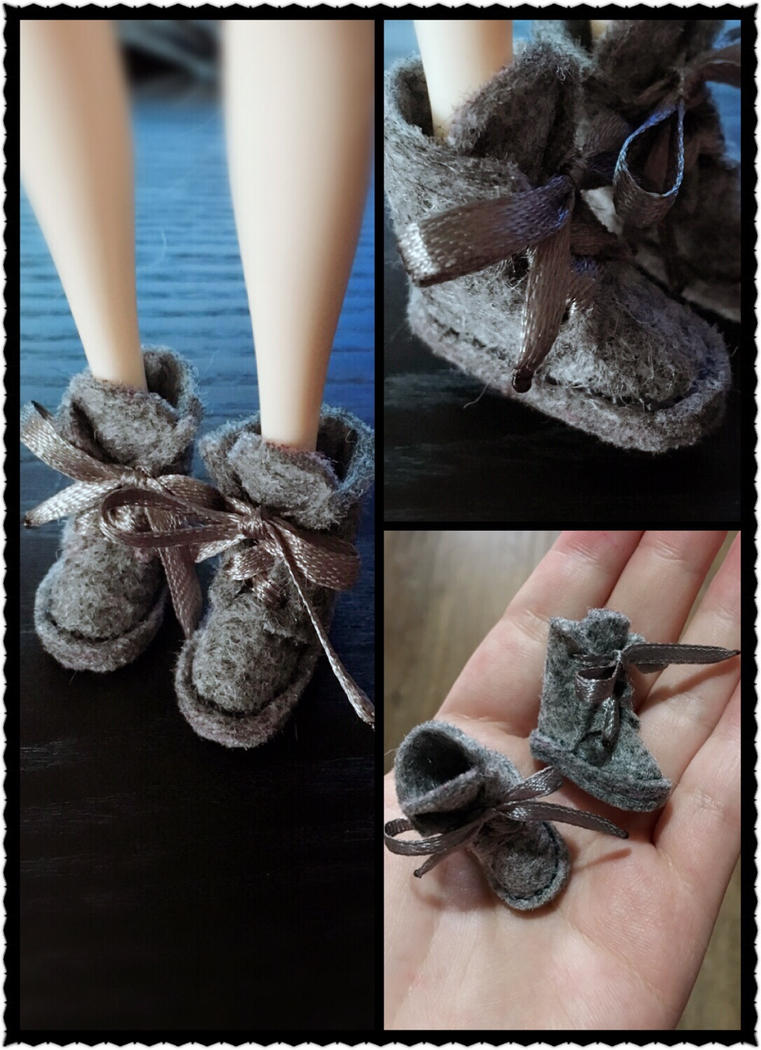 Handmade UGG bootsdolls for dolls by iCandy33