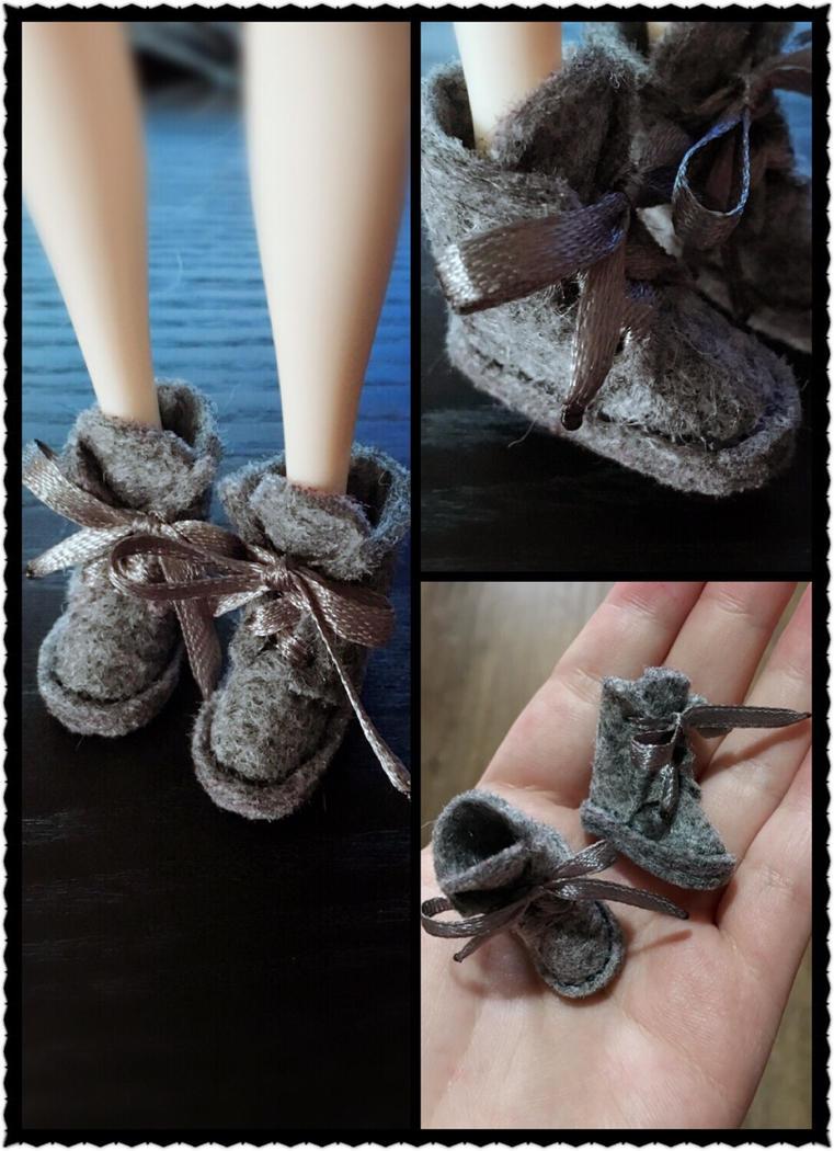 Handmade UGG bootsdolls for dolls by iCandy33