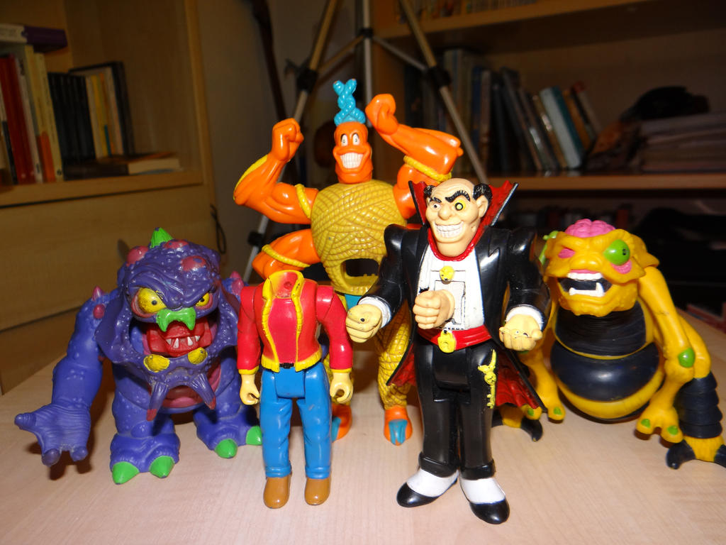 creepy action figures