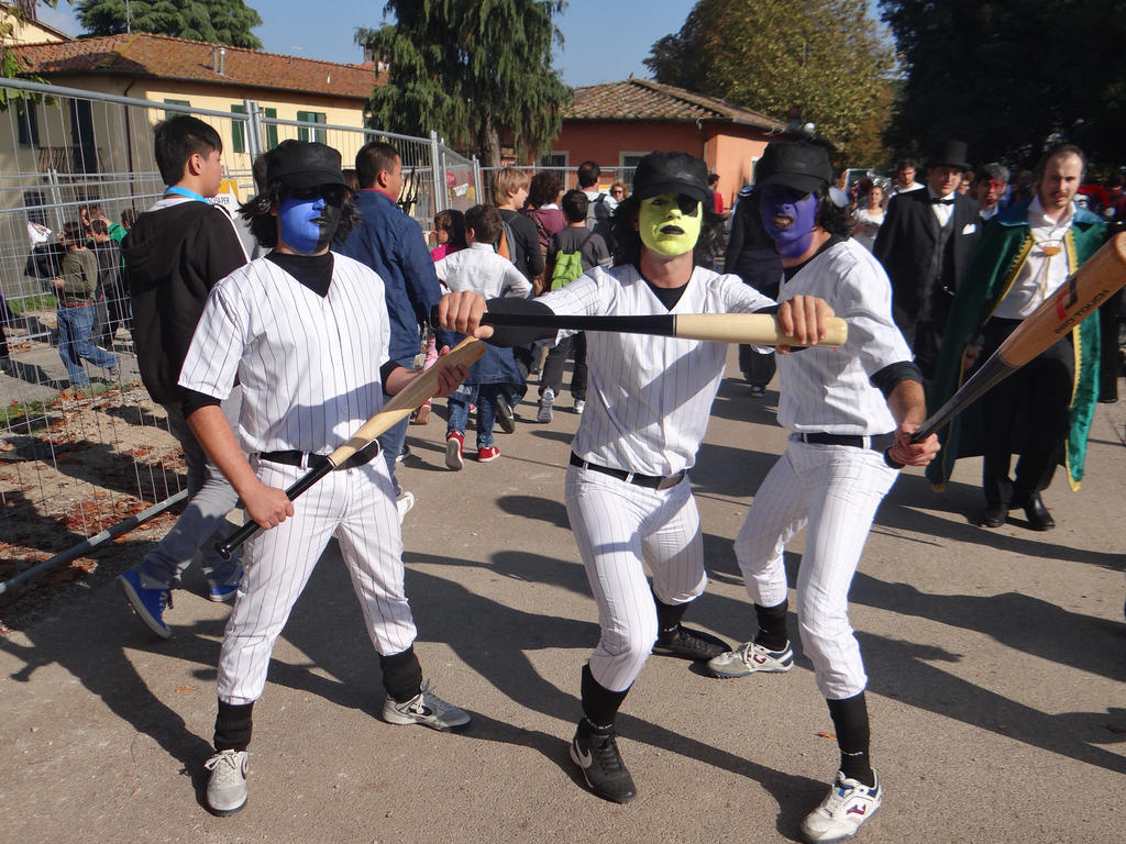 baseball furies the warriors lucca comics 2013 by