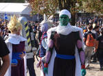 Dragon Ball group - Lucca Comics 2013 by Groucho91
