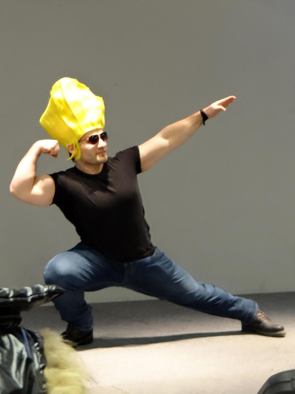 Johnny Bravo - Cos-Mo 2014 by Groucho91