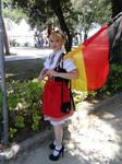 Germany female (Hetalia) RiminiComics 2014 by Groucho91