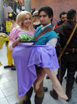 Rapunzel and Flynn (Tangled) Cos-Mo 2015