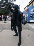 Spider-Man noir - Lucca Comics 2018 by Groucho91